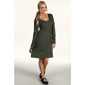 Horny Toad Olive Long Sleeve Dress